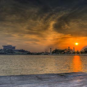 Waiting For by Mohammad Hisham Abd Zamhuri - Landscapes Sunsets & Sunrises (  )