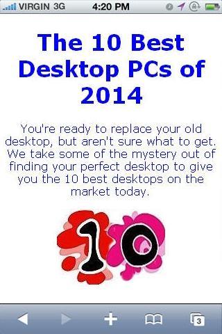 Desktop Reviews