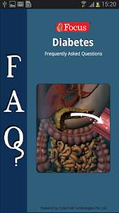 FAQs in Diabetes- screenshot thumbnail