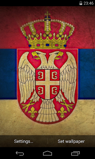 Magic flag: Serbia