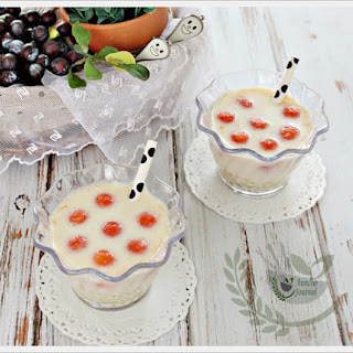 Papaya Sago Soy Milk Recipe