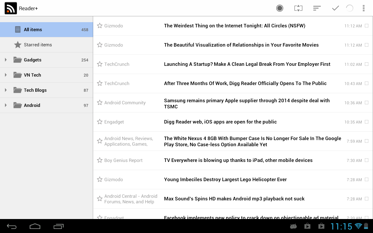 Reader+ | Reader Plus - screenshot