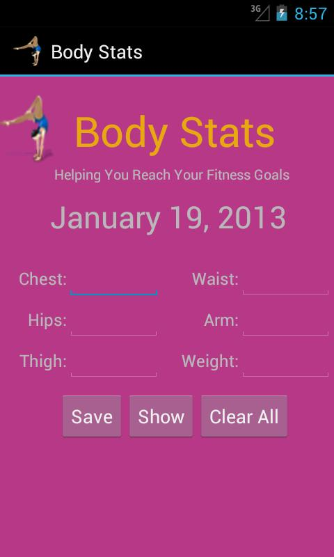 Body Stats - Women- screenshot