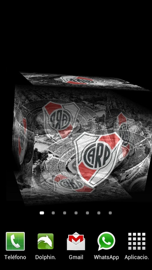 3D River Plate Fondo Animado - screenshot
