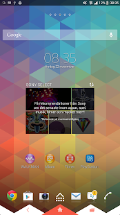 XPERIA™ Triflat Theme- screenshot thumbnail