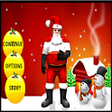 A Christmas Game Santa Action logo