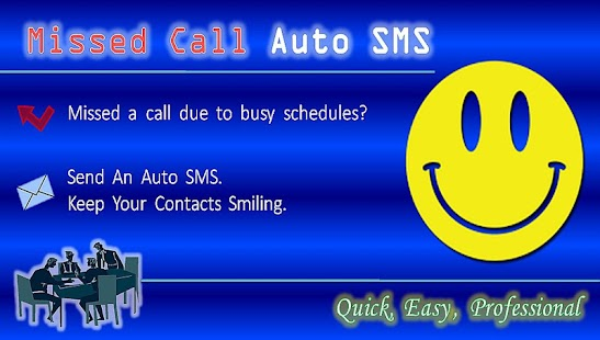 Missed Call Auto SMS (No ADs)- screenshot thumbnail