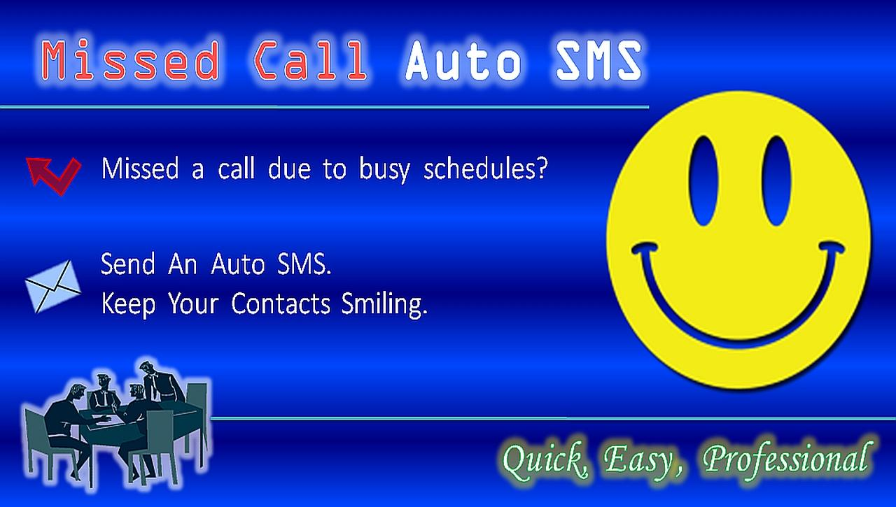 Missed Call Auto SMS (No ADs) - screenshot