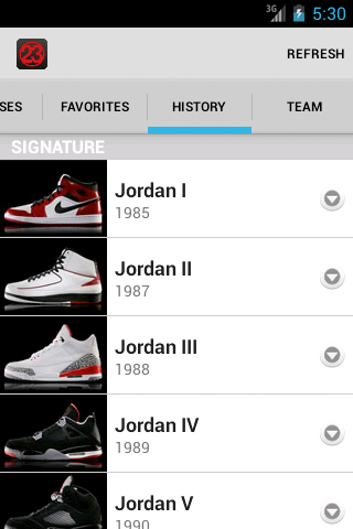 J23 - Jordan Release Dates - screenshot