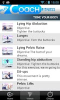 Screenshot of PlayCoach™ Fitness Trip