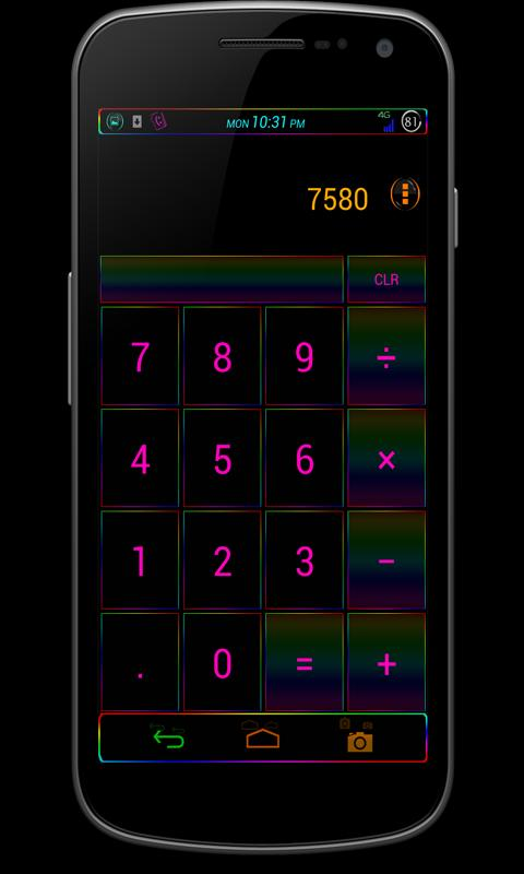 CM10/AOKP Theme: FusterCluck - screenshot