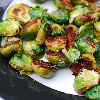 Golden Brussels Sprouts.