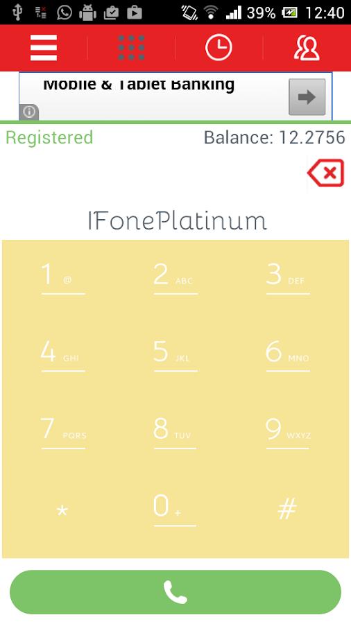 ifonePlatinum- screenshot