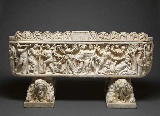 Sarcophagus with Scenes of Bacchus