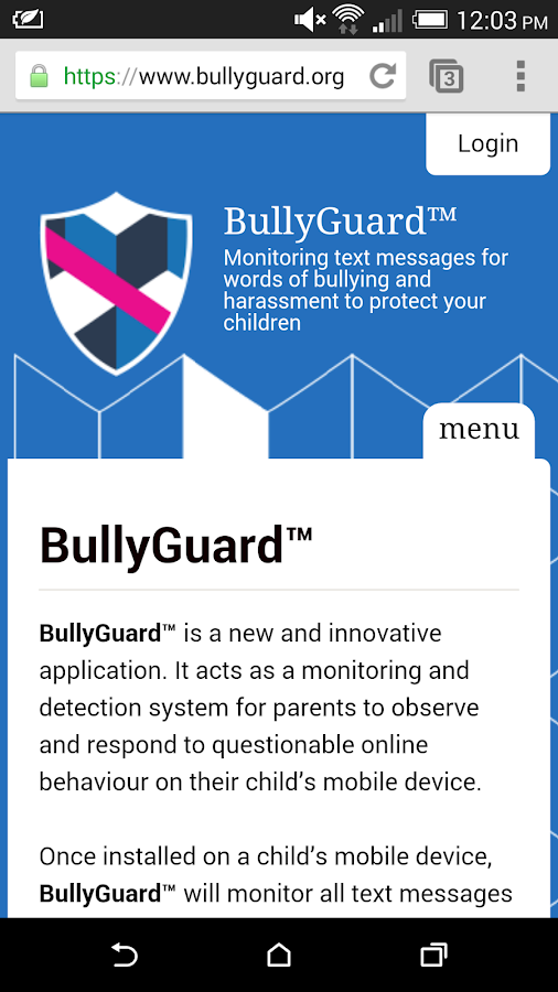 BullyGuard™- screenshot