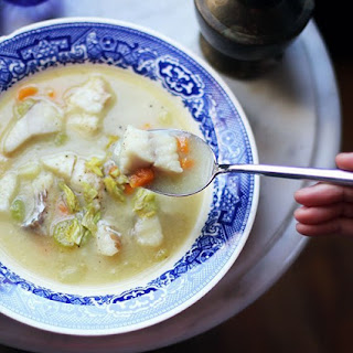 Creamy Dairy-Free Fish Chowder Recipe