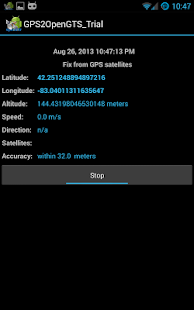 GPS2OpenGTS_Trial - screenshot thumbnail