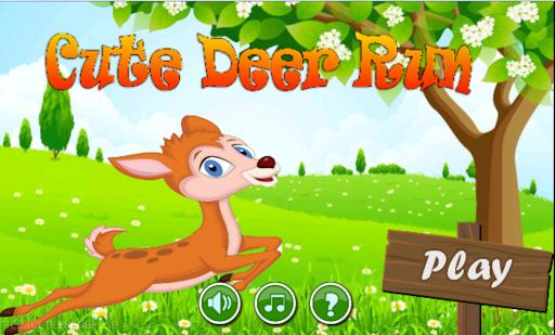 Cute Deer Run - deer Jump Free