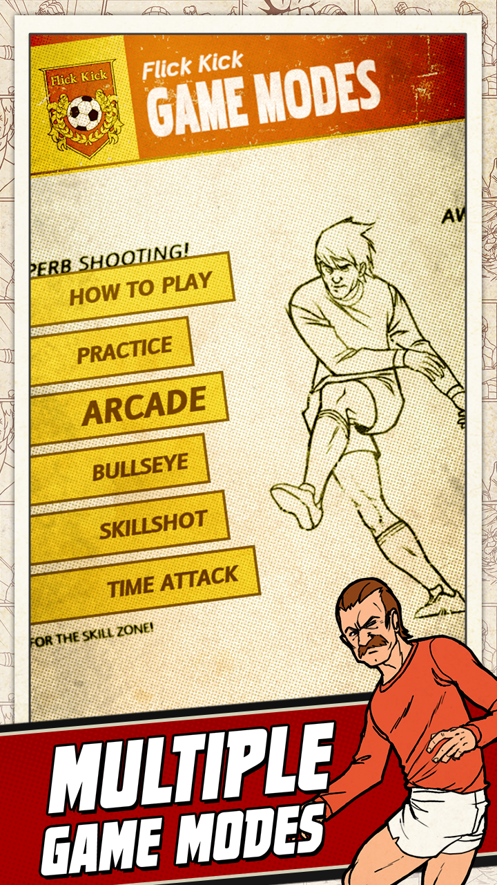 Flick Kick Football screenshot #4
