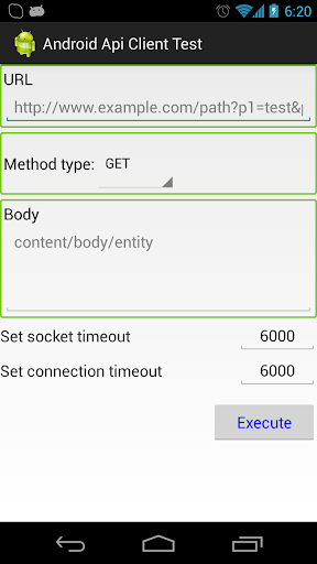 Easy Android Api Client