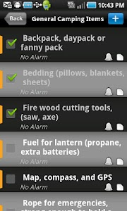 TRAILER CAMPING TRIP PLANNER screenshot 1