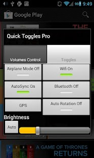 Quick Toggles Pro - screenshot thumbnail