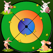 Rabbits and darts for children