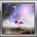 Free planet sky 3D icon