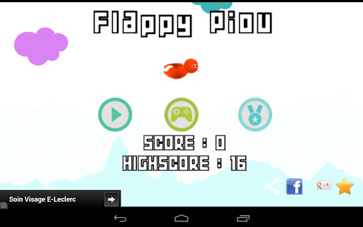 Flappy Piou 2.3 screenshots 12