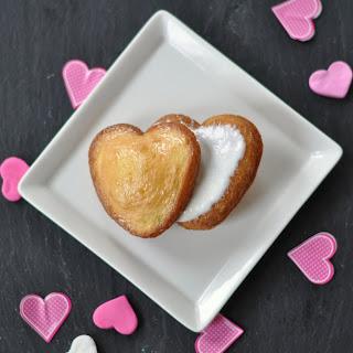 Mini Heart Shaped Tres Leche Cakes