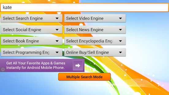 Super Search - web browsers- screenshot thumbnail