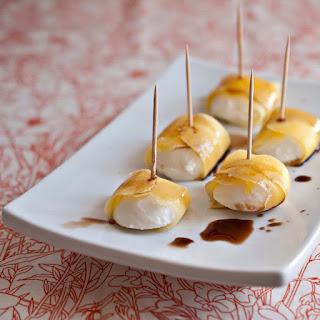 Mango Wrapped Mozzarella