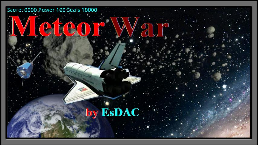 Meteor War- screenshot