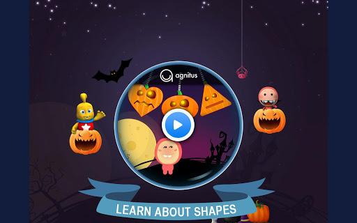 Preschool Pumpkin Shapes Match