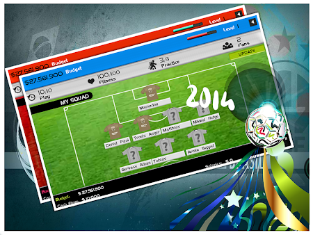 World Cup 2014 Soccer Manager 1.0 screenshot 52315