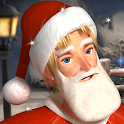 Drunken Santa Klaus icon