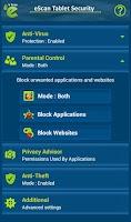 Screenshot of eScan - Tablet Antivirus