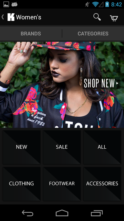 Karmaloop - screenshot