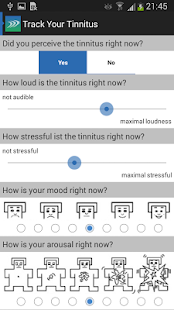Track Your Tinnitus- screenshot thumbnail