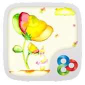 Flower Fairy GO Launcher Theme
