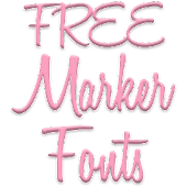 Marker Fonts for FlipFont free