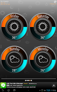 Weather Clock - screenshot thumbnail