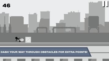 Screenshot of Stickman Rooftop Runner