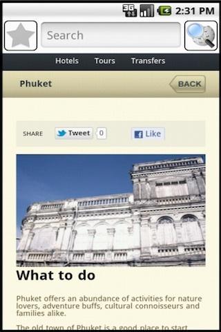 Phuket Travel Guide- screenshot