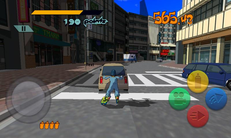 Jet Set Radio™ - screenshot