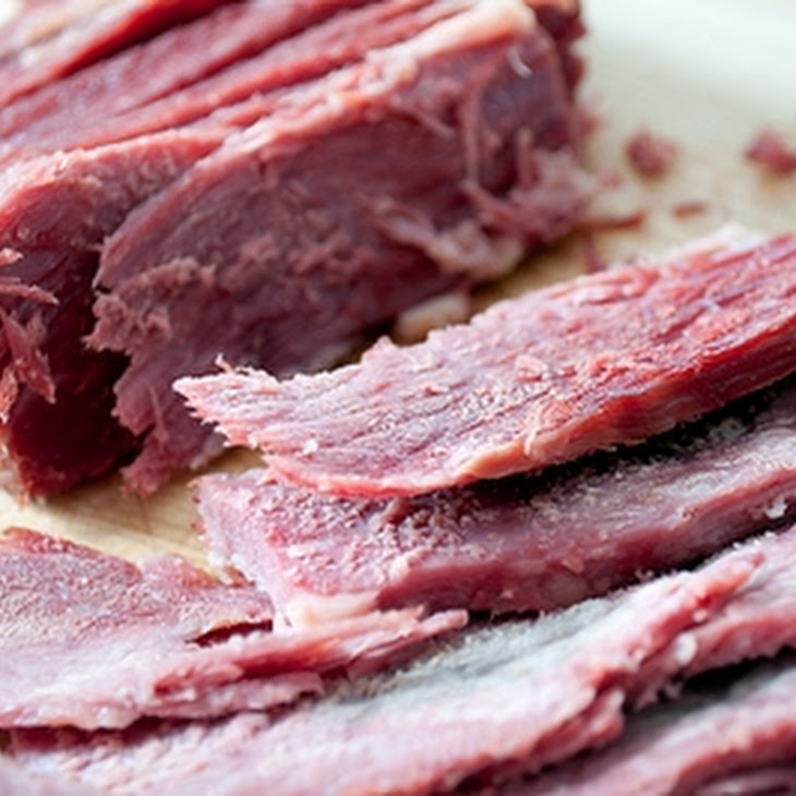 Cider-Braised Corned Beef and Vegetables Recipe
