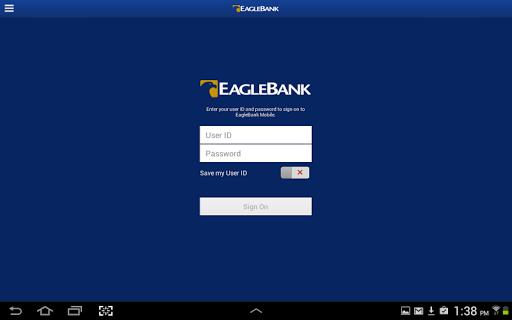EagleBank Mobile for Tablet