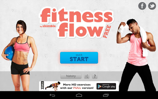 Fitness Flow FREE Screenshot