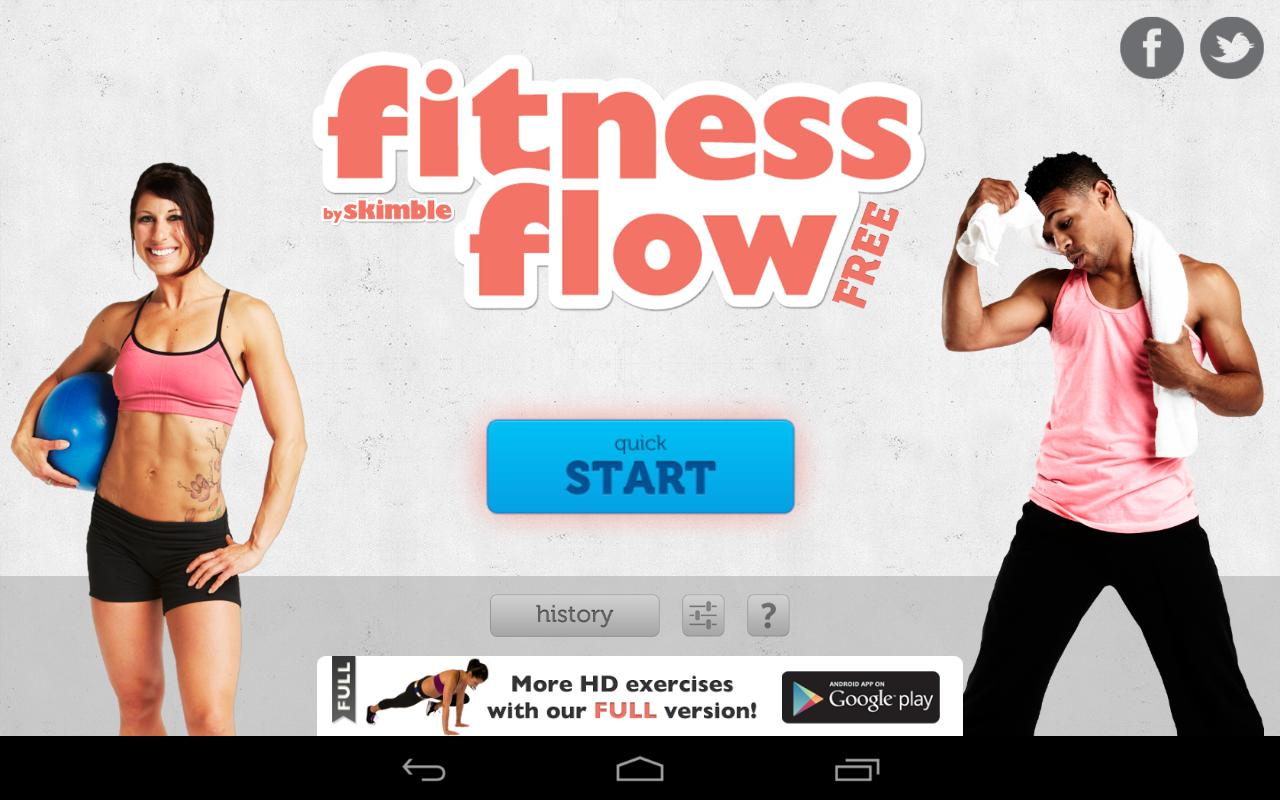 Fitness Flow FREE - screenshot