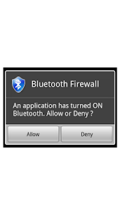 Bluetooth Firewall - screenshot thumbnail